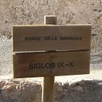 Det romerska badets namnskylt