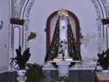 Jungfru Maria i en alkov i Iglesias de la Purisima.
