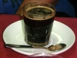 Kaffe med konjak.
