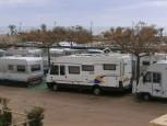Utsikt över campingen.