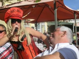 Janne och Lady Gaga.