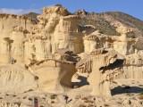 Sandstensformationer.
