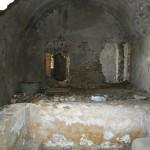 Interiör från det romerska badet