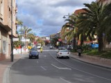 Huvudgatan i Puerto de Mazarrón