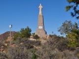 Bild på Jesusstatyn på berget i Mazarró.