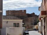 Bild över ruinen i Mazarrón.