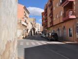 Huvudgatan i Mazarrón.
