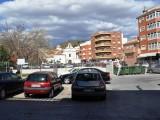 Bild över torget iMazarrón.