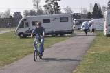 Bertil Asplund har fått fart på sin elcykel.