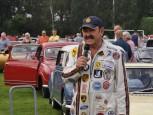 Lars Lindström berättar bilhistoria.