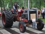 En av de större traktorerna.