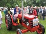 Eva Persson vann traktorklatsen.