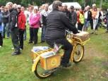 Postmopeden vann mopedklassen