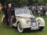 Riley RMB från 1948 vann personbilsklassen.